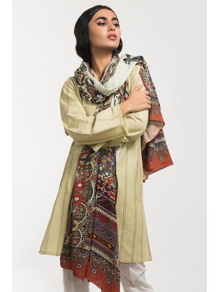 Gul Ahmed Ready To Wear 2 PC Khaddar Outfit IPW-19-125