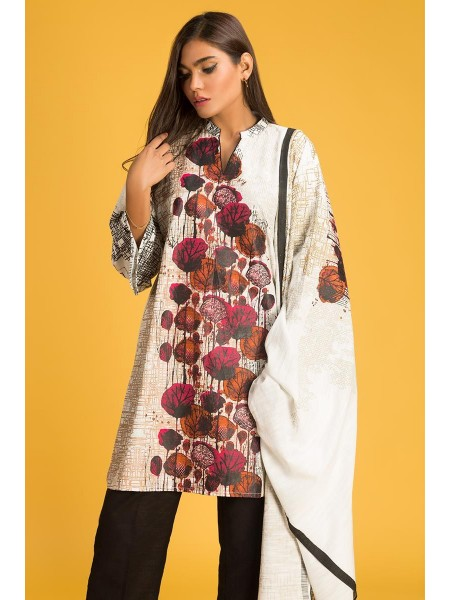 Gul Ahmed Ready To Wear Khaddar 2 PC Outfit IPW-19-04