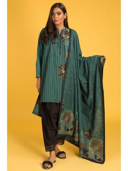 Gul Ahmed Ready To Wear Khaddar 2 PC Outfit IPW-19-06