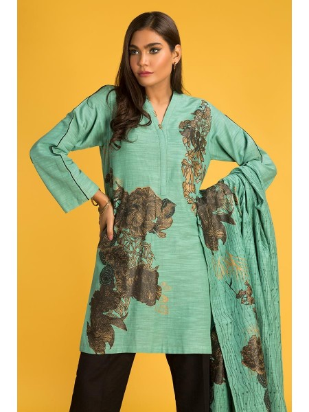 Gul Ahmed Ready To Wear Khaddar 2 PC Outfit IPW-19-10