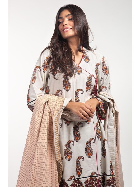 Gul Ahmed Ready To Wear Lawn 2 PC Outfit IPS-20-01
