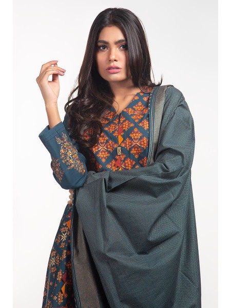Gul Ahmed Ready To Wear Lawn 2 PC Outfit IPS-20-02