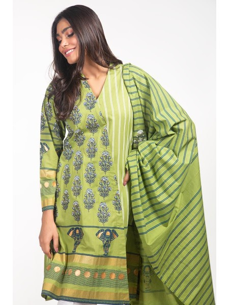 Gul Ahmed Ready To Wear Lawn 2 PC Outfit IPS-20-09