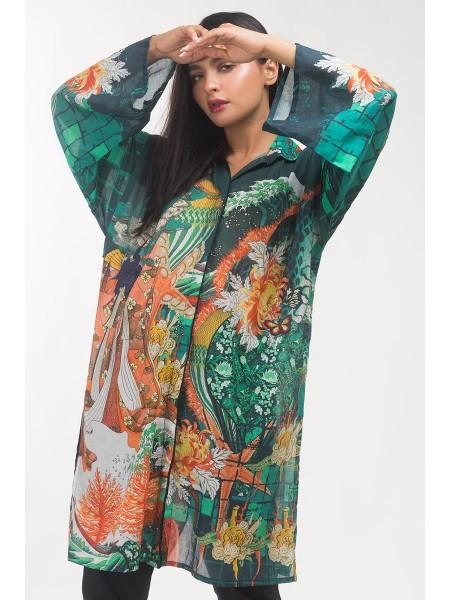 Gul Ahmed Ready To Wear Lawn Shirt GLS-19-283 DP