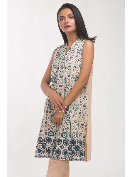 Gul Ahmed Ready To Wear Poly-crepe 2 PC Outfit GLAMOUR-19-60