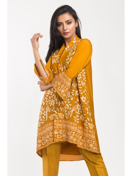 Gul Ahmed Ready To Wear Polyester 2 PC Outfit GLAMOUR-19-124