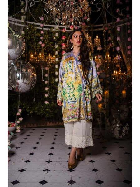 Gul Ahmed Ready To Wear Silk Shirt GLAMOUR-19-30