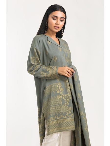 Gul Ahmed Ready To Wear Viscose 2 PC Outfit IPW-19-98