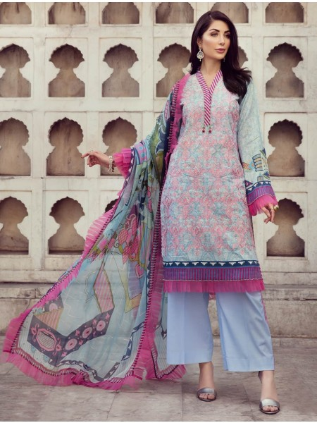 Khas Exclusive Collection 2020 Shirt Shalwar Dupatta A-KC-01