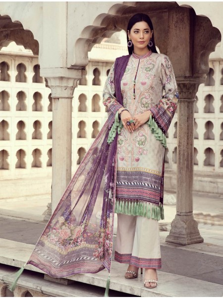 Khas Exclusive Collection 2020 Shirt Shalwar Dupatta A-KC-08