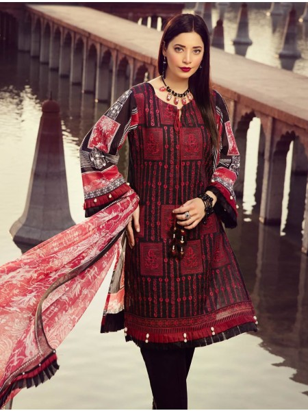 Khas Exclusive Collection 2020 Shirt Shalwar Dupatta A-KC-09