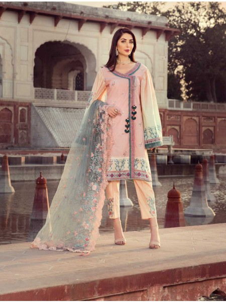 Khas Exclusive Collection 2020 Shirt Shalwar Dupatta A-KNE-06