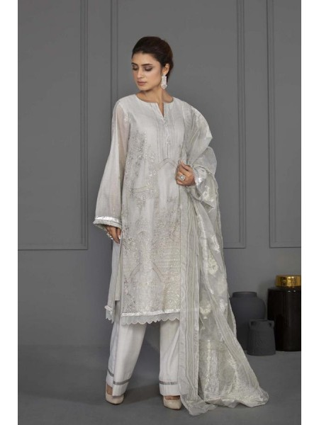Sapphire Eid Edition Crystal White 03DYELUXV329