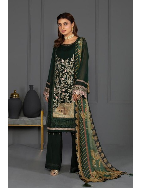 Sapphire Eid Edition Emerald Green 03DYELUXV313