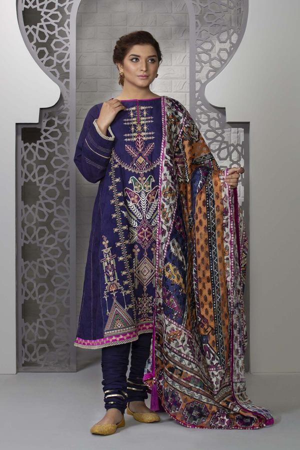 Sapphire Eid Edition Floral Heaven 03dyeclsv303 - Lawncollection.pk