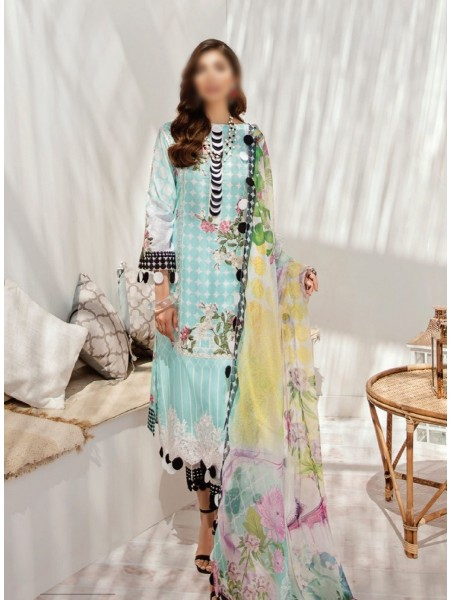 AZALEA Unstiched Lawn Embroidered Spring Summer20 D-04