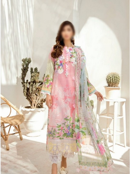 AZALEA Unstiched Lawn Embroidered Spring Summer20 D-06
