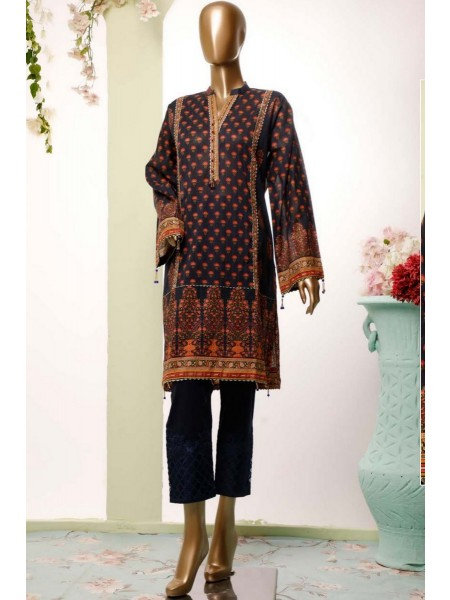 BIN SAEED Lawn Stitched Kurti Collection D-17