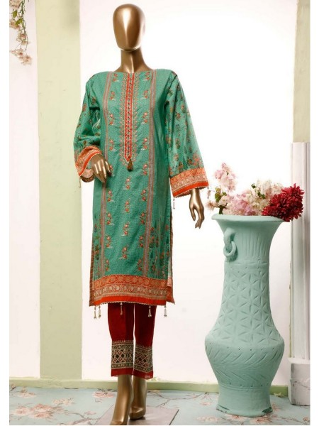 BIN SAEED Lawn Stitched Kurti Collection D-23