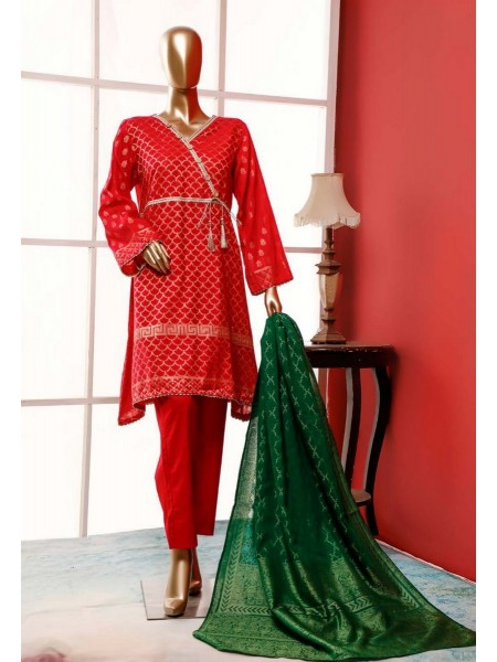 BIN SAEED Stitched Broshia Banarsi Lawn Collection Zjk-412