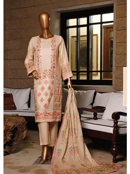 BIN SAEED Stitched Printed And Embroidered Lawn Collection'20 D-DG 706
