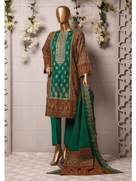 BIN SAEED Stitched Printed And Embroidered Lawn Collection'20 D-FLE 42