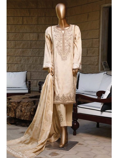 BIN SAEED Stitched Printed And Embroidered Lawn Collection'20 D-LA 203