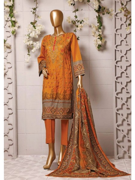 BIN SAEED Stitched Printed And Embroidered Lawn Collection'20 D-Zbs 23