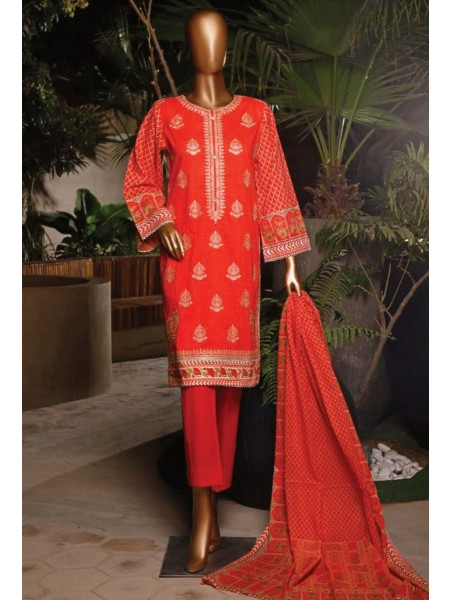 BIN SAEED Stitched Printed And Embroidered Lawn Collection'20 D-Zbs 26