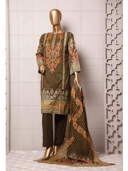 BIN SAEED Stitched Printed And Embroidered Lawn Collection'20 D-Zbs 45