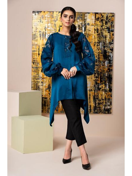 By The Way Eid Collection Cerulean Blue WRS0586-XSM-BLU