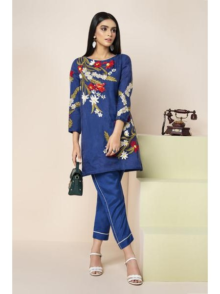 By The Way Eid Collection Iris Blue S & T WRS0603-XSM-BLU