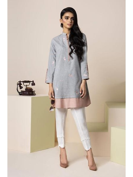 By The Way Eid Collection Pink Box WRH0839-XSM-GRY