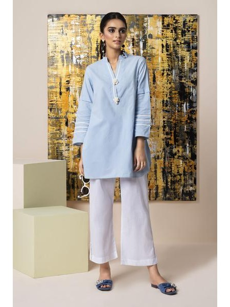By The Way Eid Collection Sea Waves WRH0838-XSM-BLU