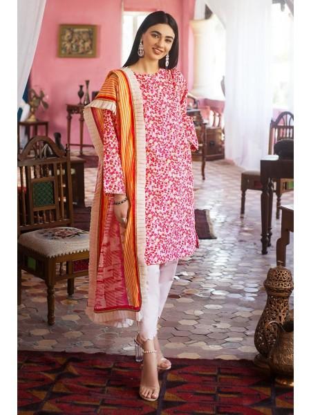 Gul Ahmed Eid 2020 2 PC Digital Printed Lawn Suit FE-365