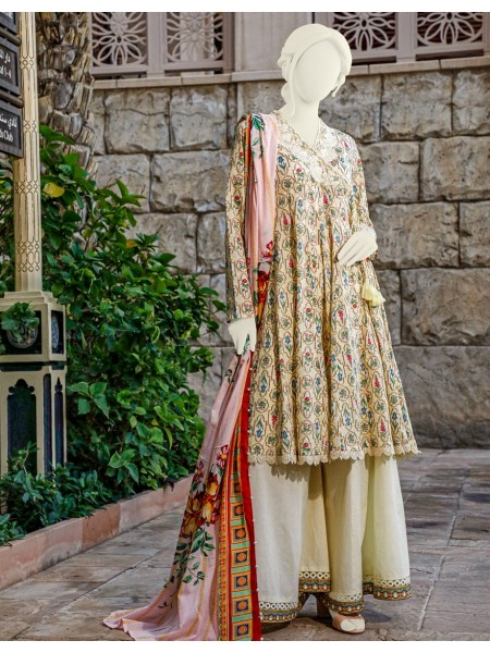 Junaid Jamshed Festive Collection vol2 JLAWN-S-20-233 Criss Cross