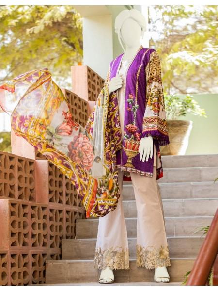 Junaid Jamshed Festive Collection vol2 JLAWN-S-20-235 Royal Ornamental