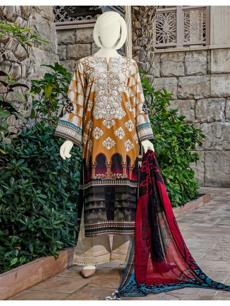 Junaid Jamshed Festive Collection vol2 JLAWN-S-20-236 Mehrabish