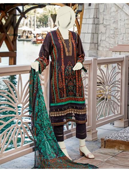 Junaid Jamshed Festive Collection vol2 JLAWN-S-20-239 Skont