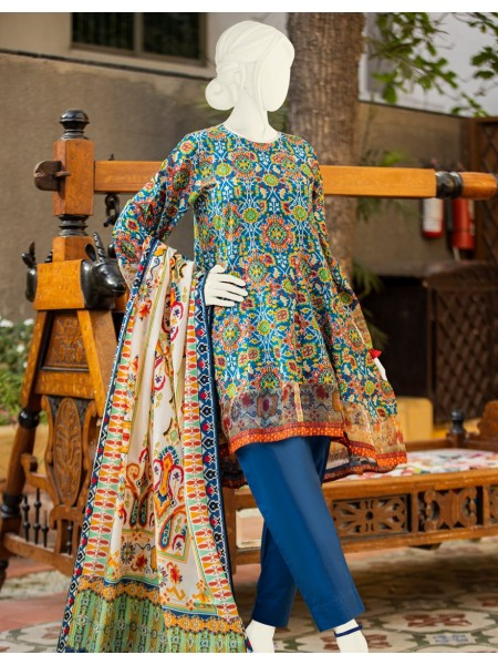 Junaid Jamshed Festive Collection vol2 JLAWN-S-JDS-20-1062 Popping Ikat