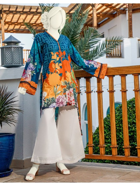 Junaid Jamshed Festive Collection vol2 JLAWN-S-JST-20-1633 Coral Reef