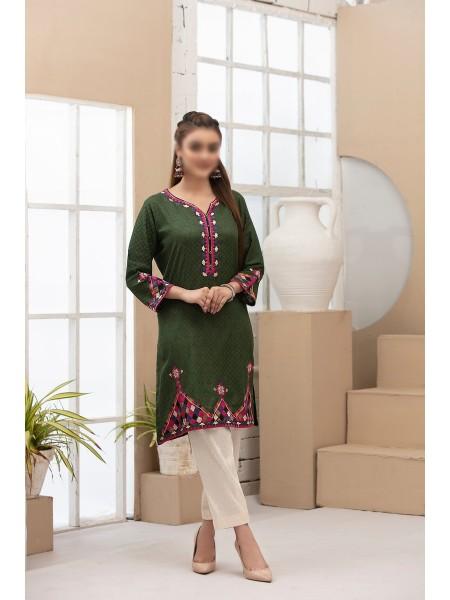 TAWAKKAL Summer Myriad Lawn Stitched Kurti Eid Edition D-8886