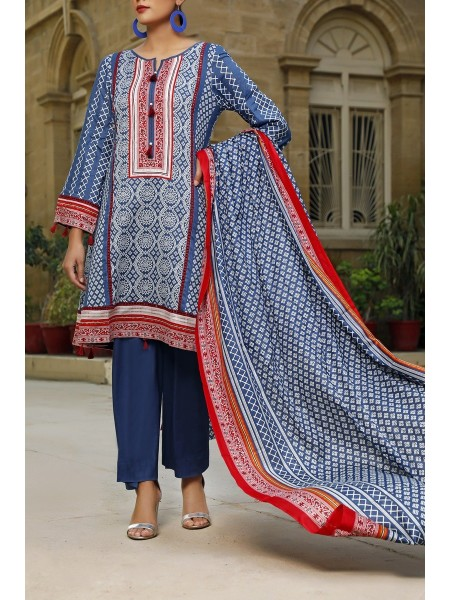 VS TEXTILE Classic Unstitched Lawn Vol 02 D-111 A