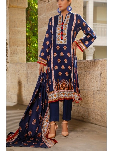 VS TEXTILE Classic Unstitched Lawn Vol 02 D-112 B