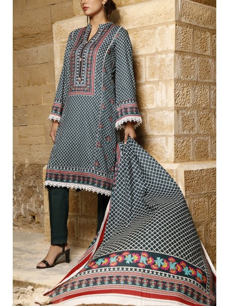 VS TEXTILE Classic Unstitched Lawn Vol 02 D-113 A
