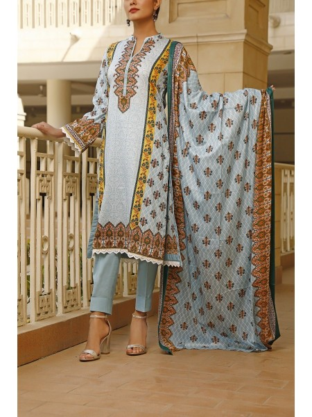 VS TEXTILE Classic Unstitched Lawn Vol 02 D-116 A