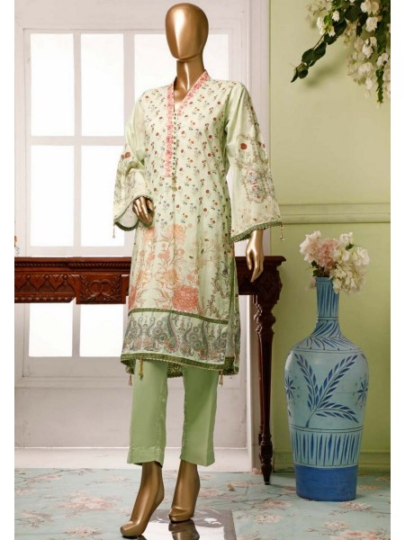BIN SAEED Lawn Stitched Kurti Collection D-04