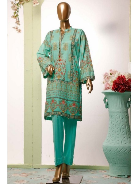 BIN SAEED Lawn Stitched Kurti Collection D-20