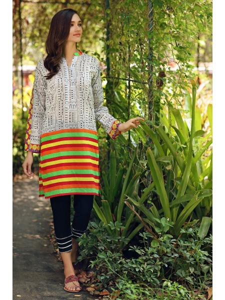 Gul Ahmed Mid Summer Collection Cambric Printed Unstitched Shirt SCN-126 A
