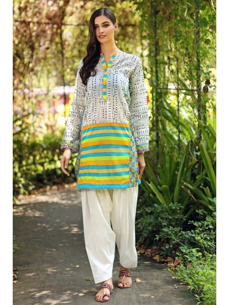 Gul Ahmed Mid Summer Collection Cambric Printed Unstitched Shirt SCN-126 B